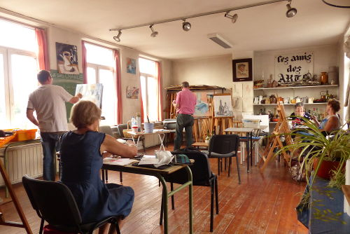 drawing atelier of friends of artists painters